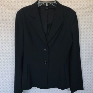 Express Design Studio Black Two Button Blazer